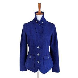 Eileen Fisher Merino Wool Nylon Jacket - M
